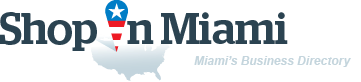 ShopInMiami. Business directory of Miami - logo